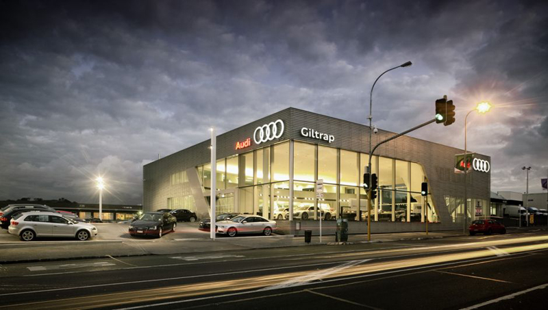 Giltrap, Audi Car Showroom – Auckland, New Zealand - The Tile People
