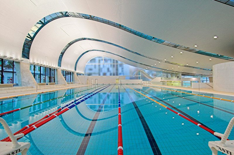 Ian thorpe aquatic centre sydney the tile people for Pool design kelowna